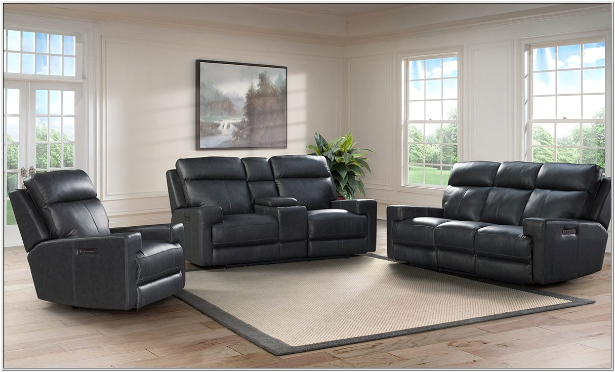 Cheap Reclinging Gray Living Room Sets