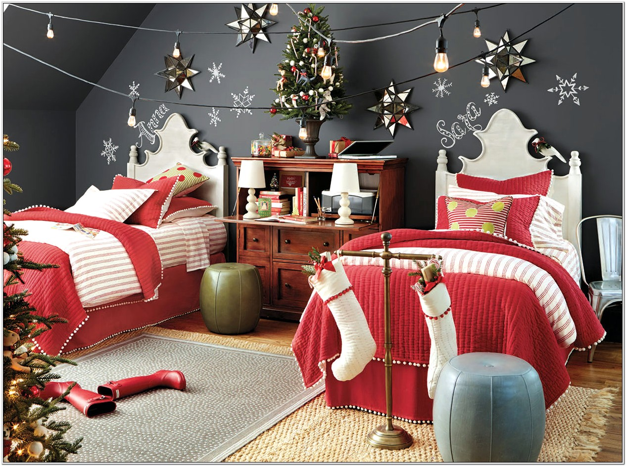 Christmas Diy Decorations For Bedrooms