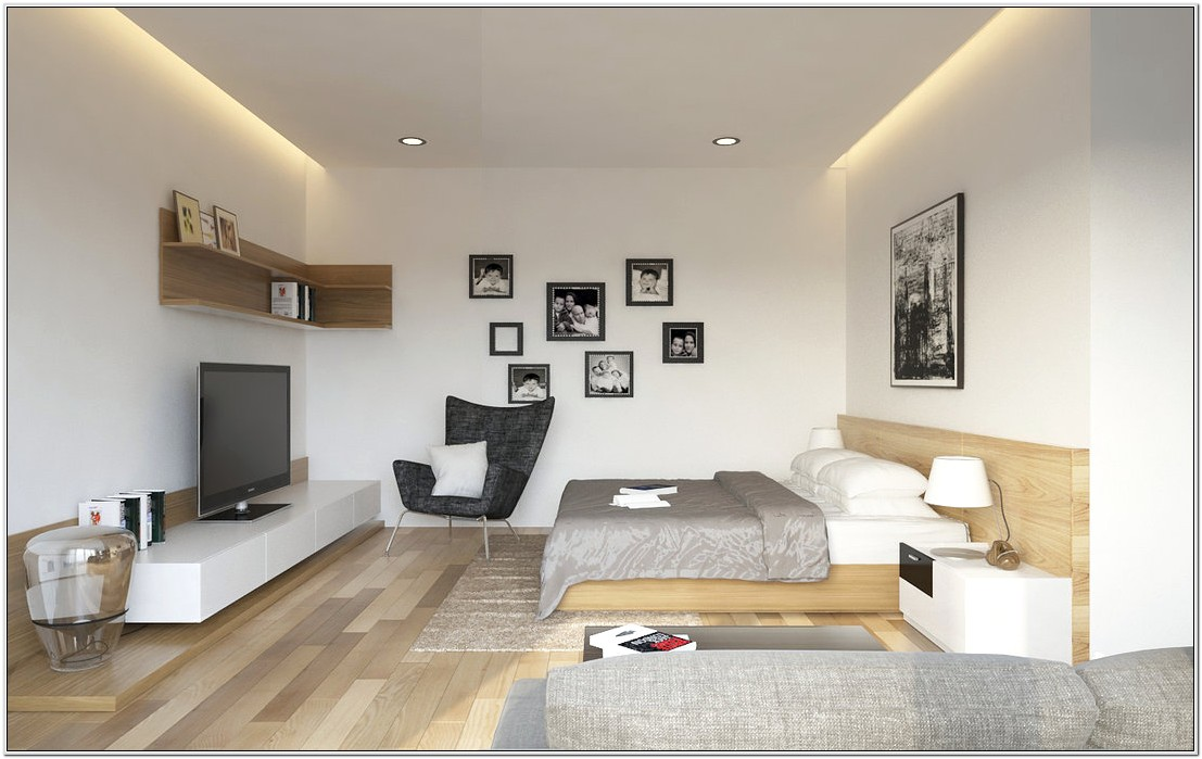 Combined Bedroom And Living Room Ideas