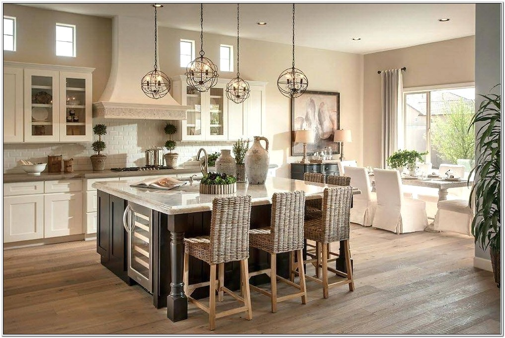 Combined Living Room Kitchen Designs