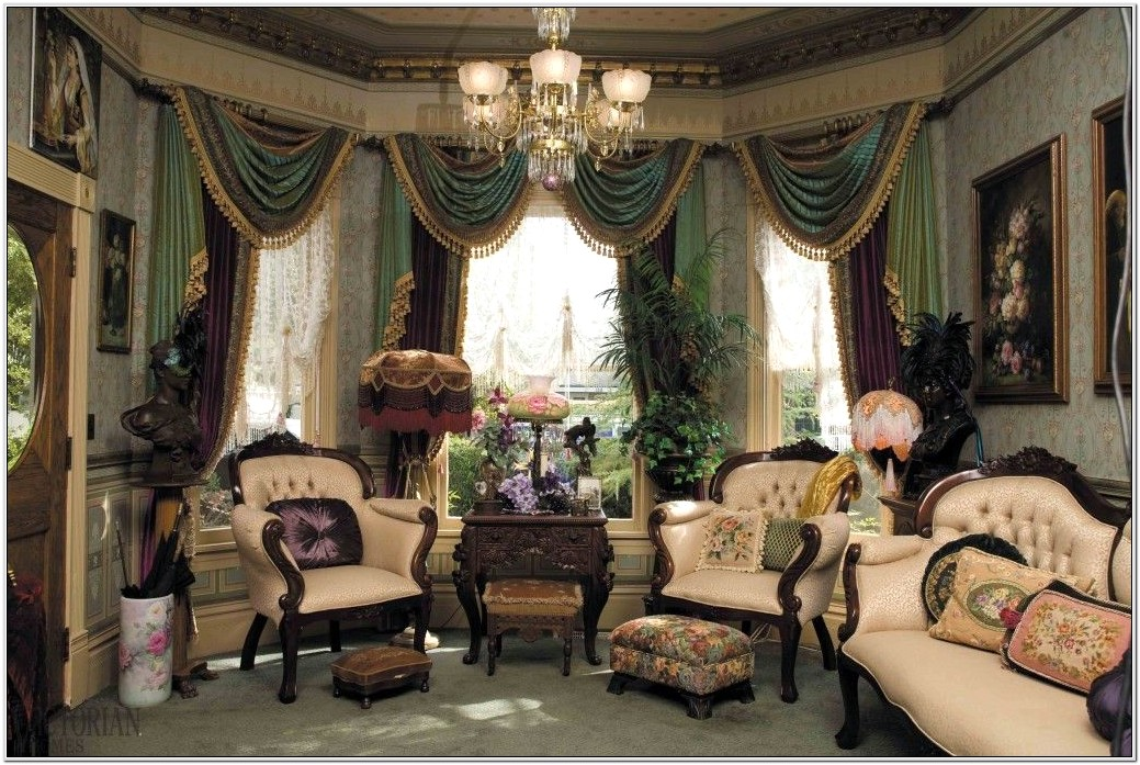 Complete Victorian Style Living Room Ideas