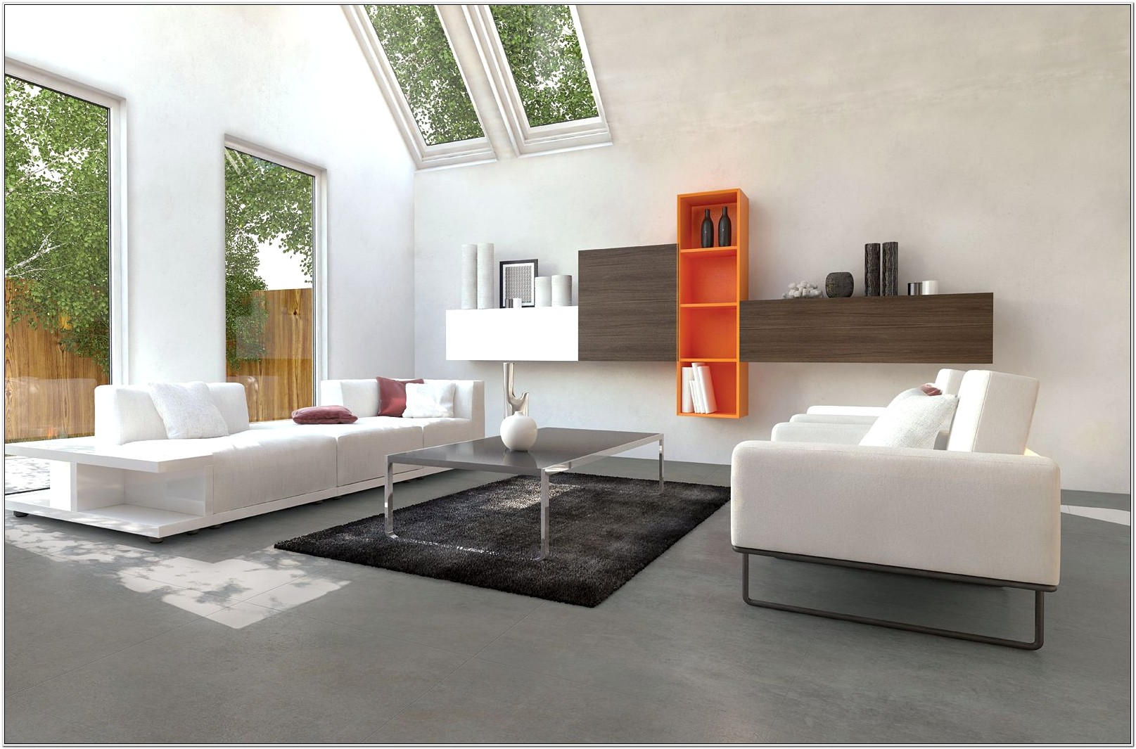 Concrete Floor In Living Room Ideas