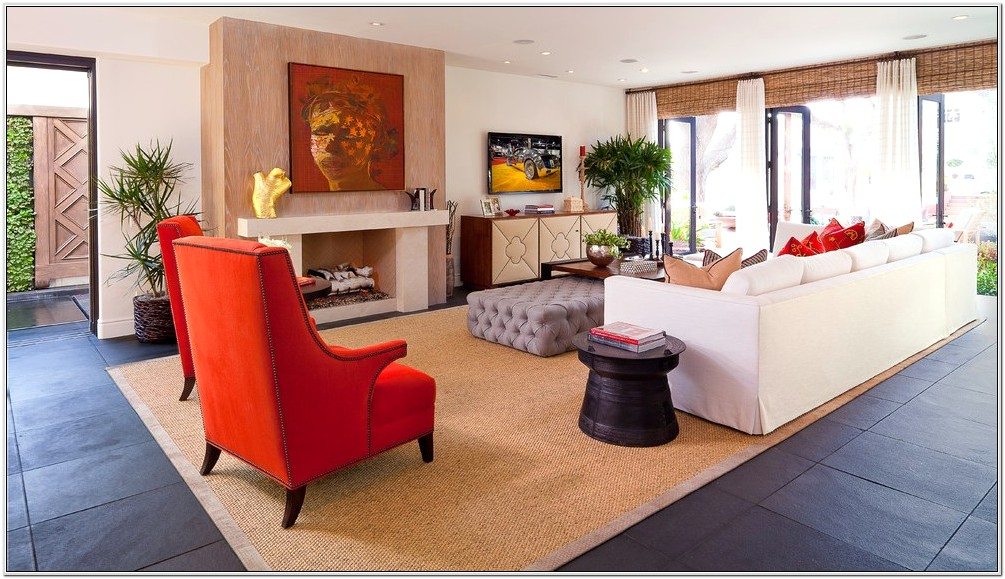 Contemporary Eclectic Decor Living Room