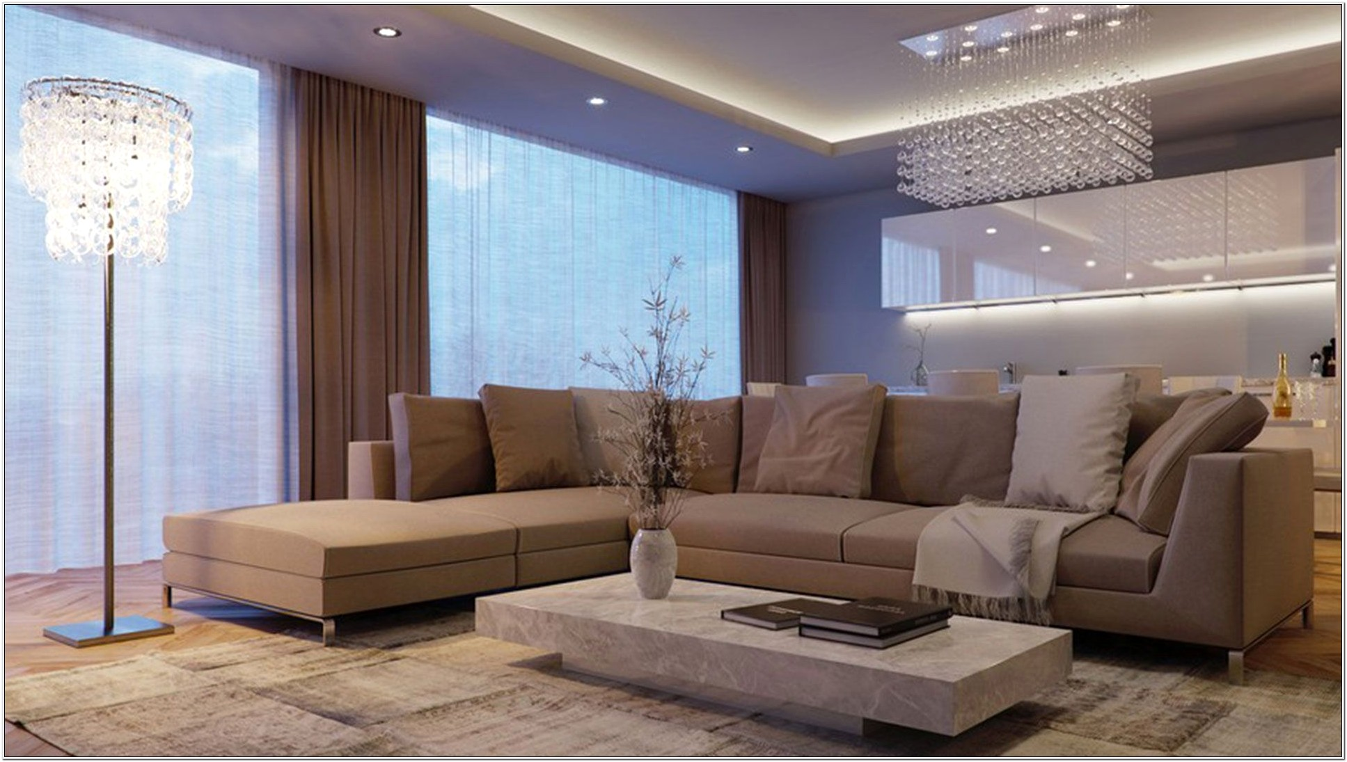 Contemporary Living Room Designs 2014