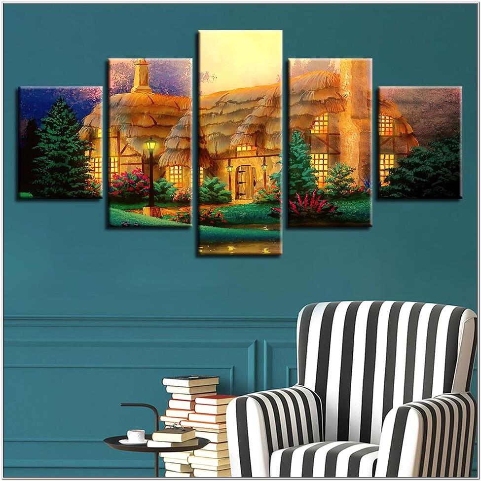 Country Cabin Bedroom Wall Decor