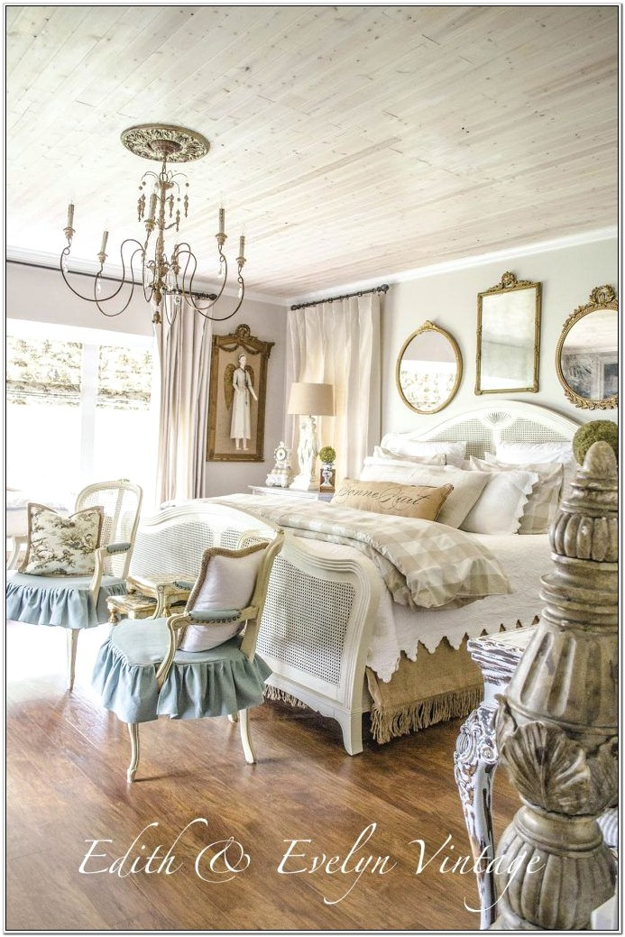 Country French Decorating Ideas Bedroom