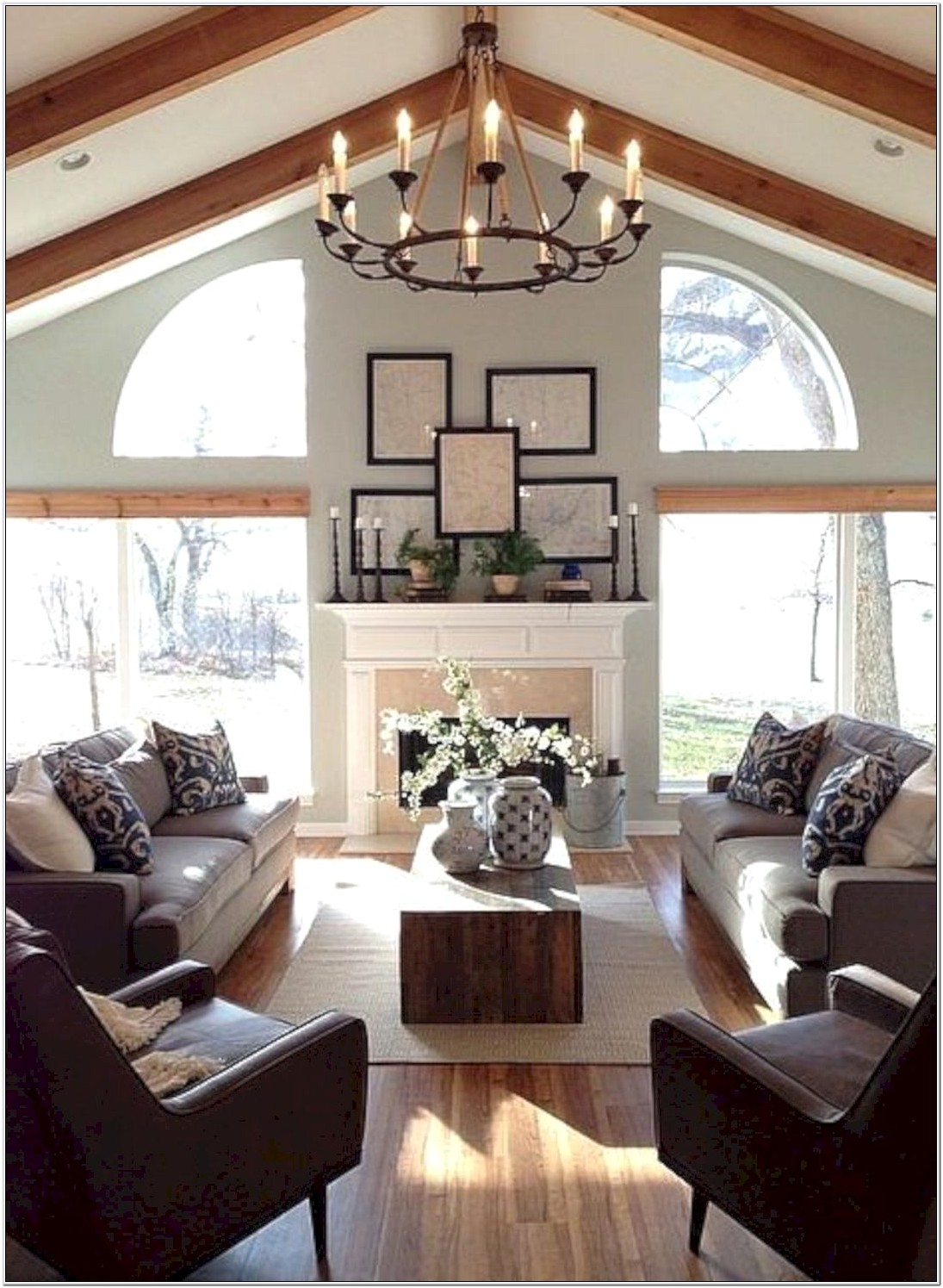 Country Painting Ideas For Living Room