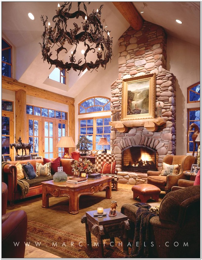 Country Western Formal Living Room Ideas