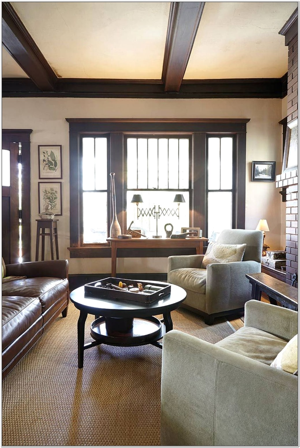 Craftsman Living Room Decor Ideas