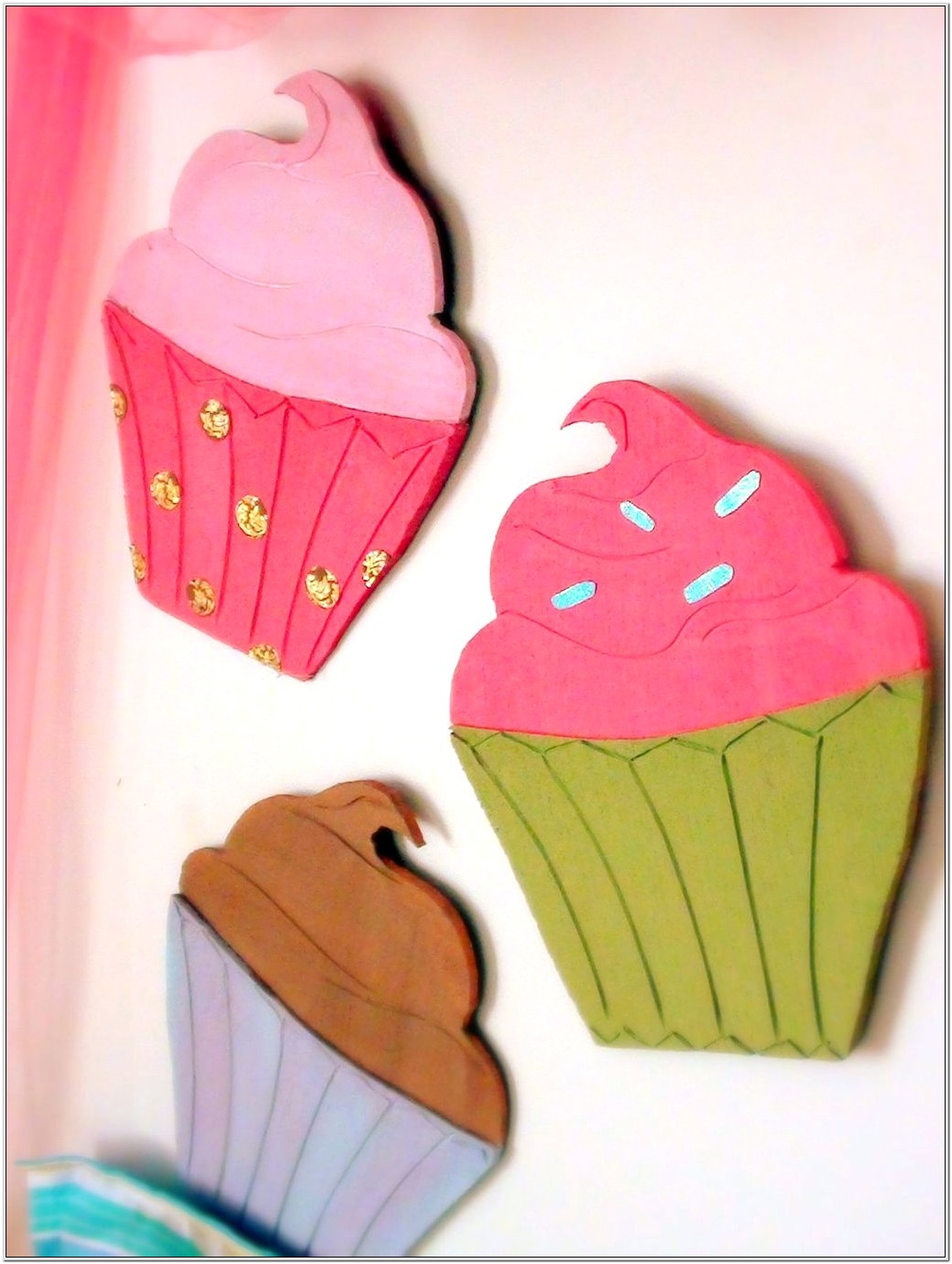Cupcake Themed Bedroom Decor
