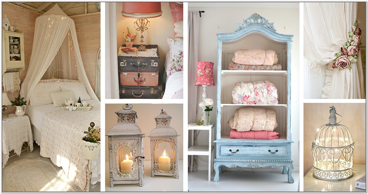 Cute Shabby Chic Decorating Ideas For Bedrooms