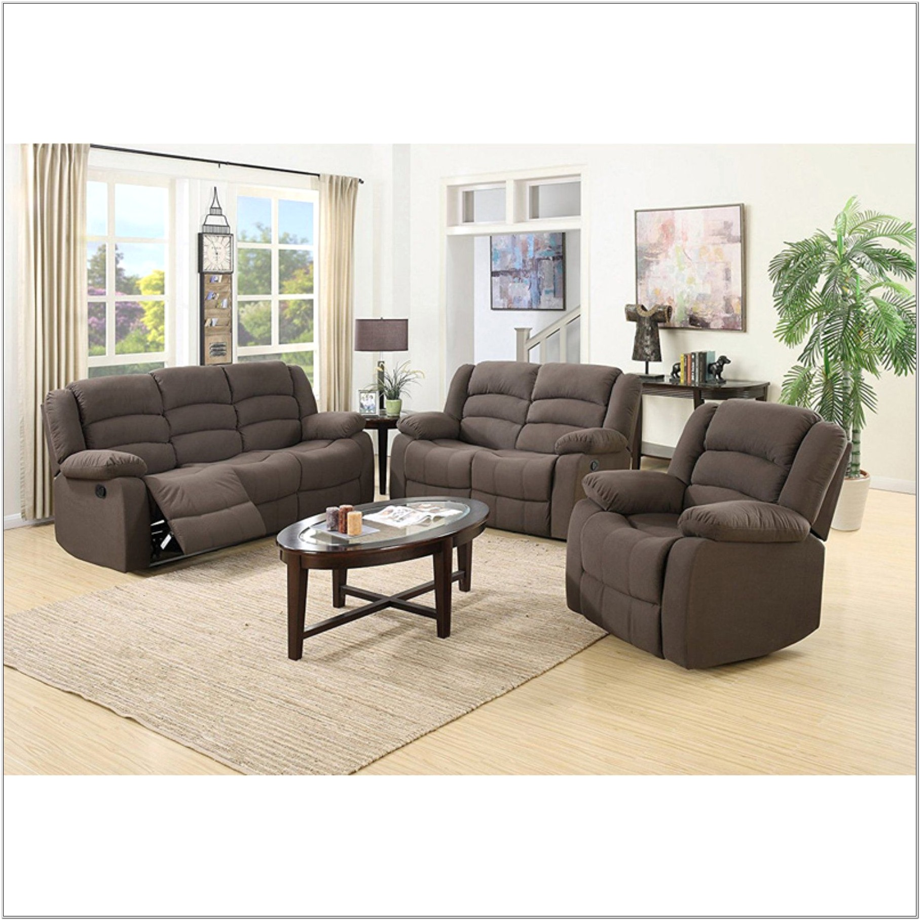 Dallas 3 Piece Living Room Set