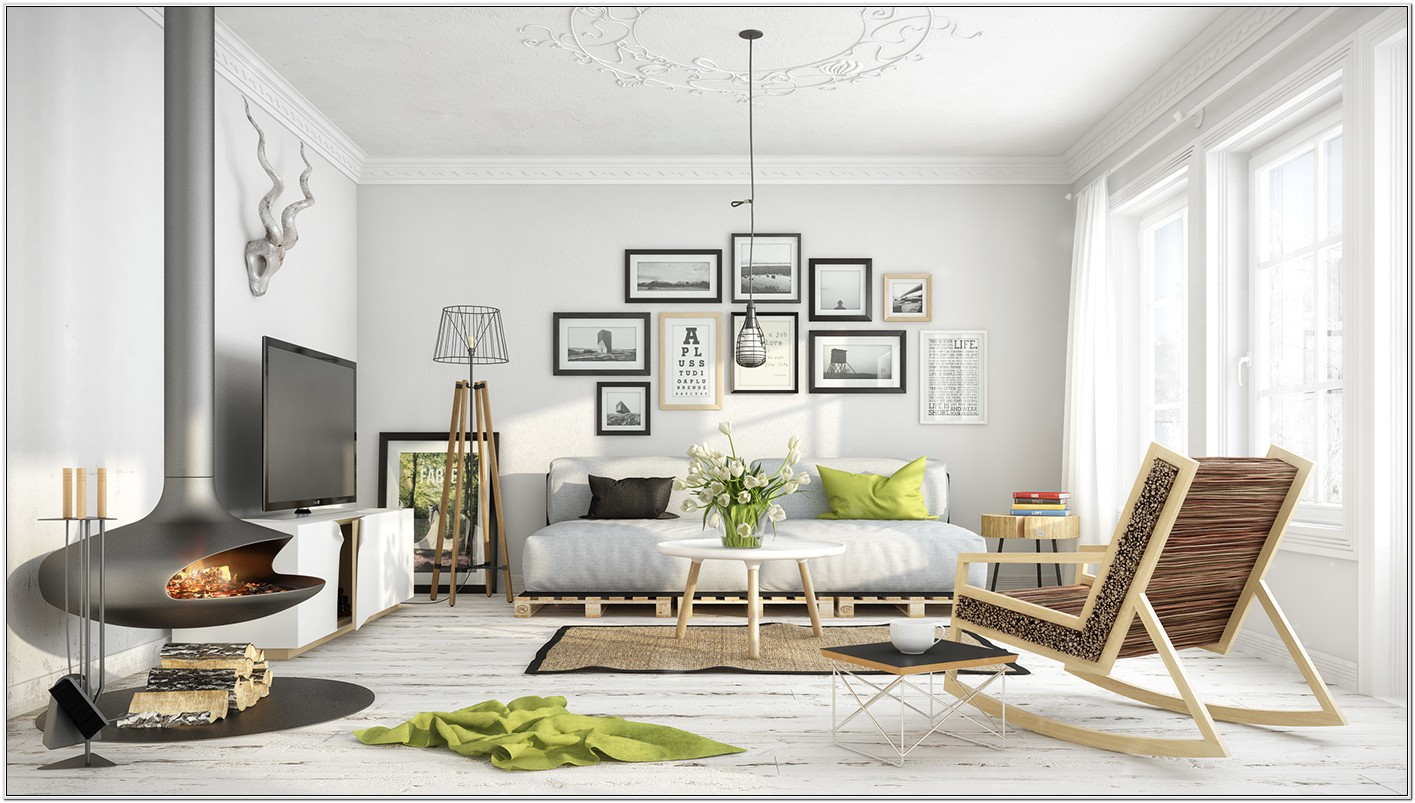 Danish Modern Living Room Design