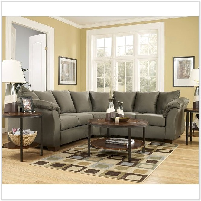 Darcy Sage Living Room Set