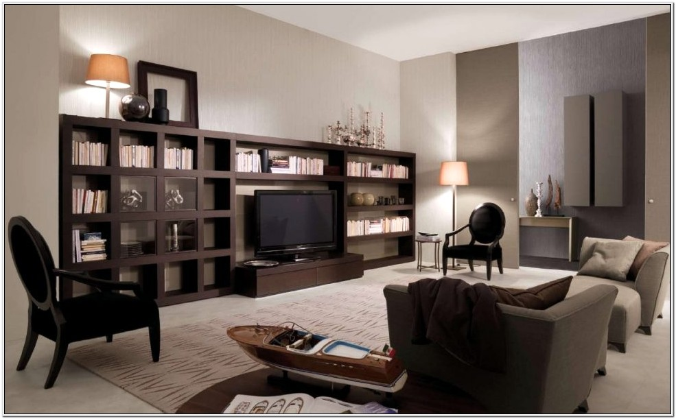 Dark Furniture Small Living Room