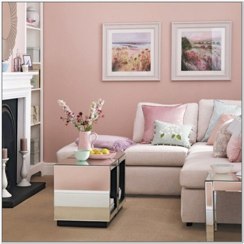 Decor With Pink Living Room