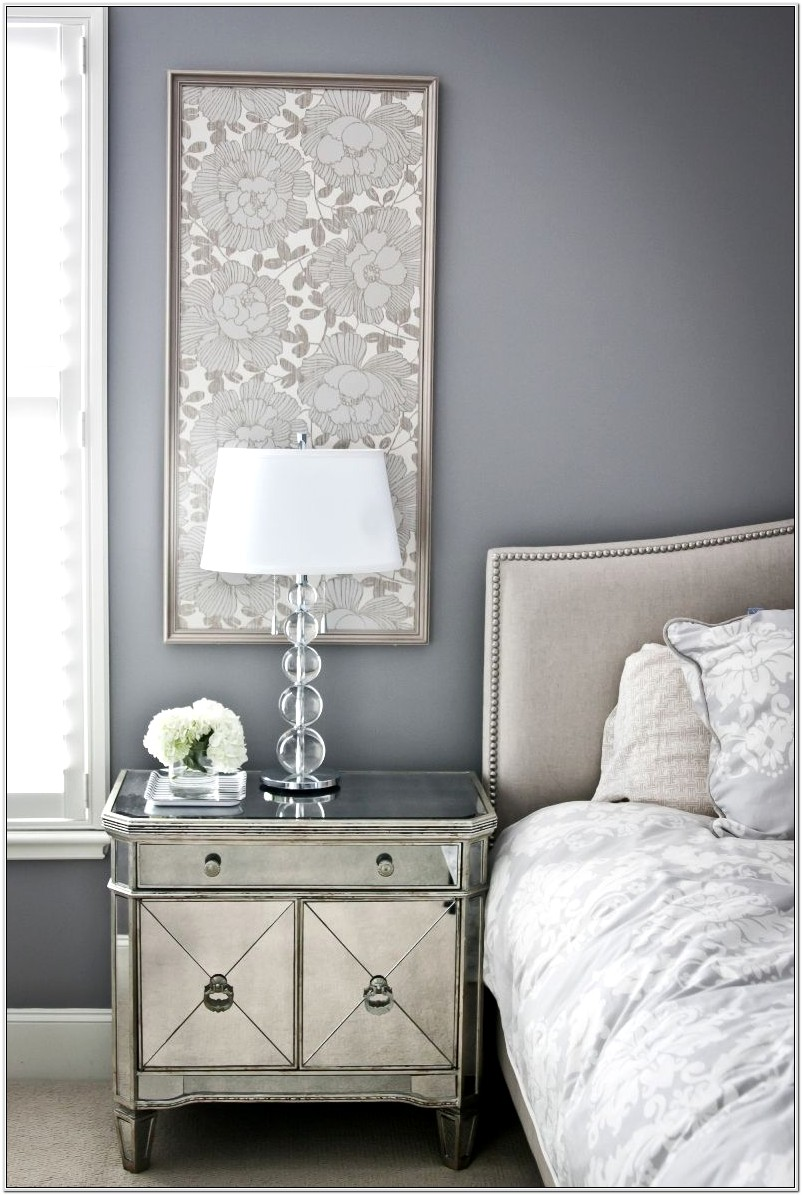 Decorate A Bedroom Around A Gray Bead