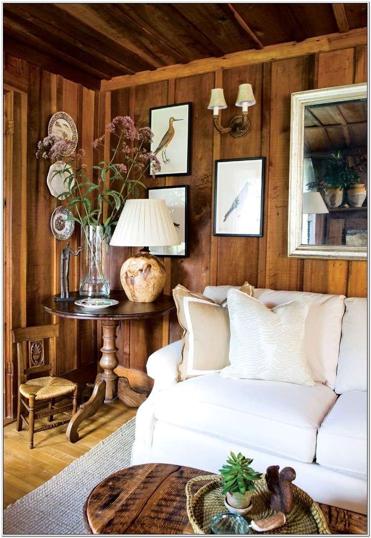 Decorate A Bedroom With Wood Paneling