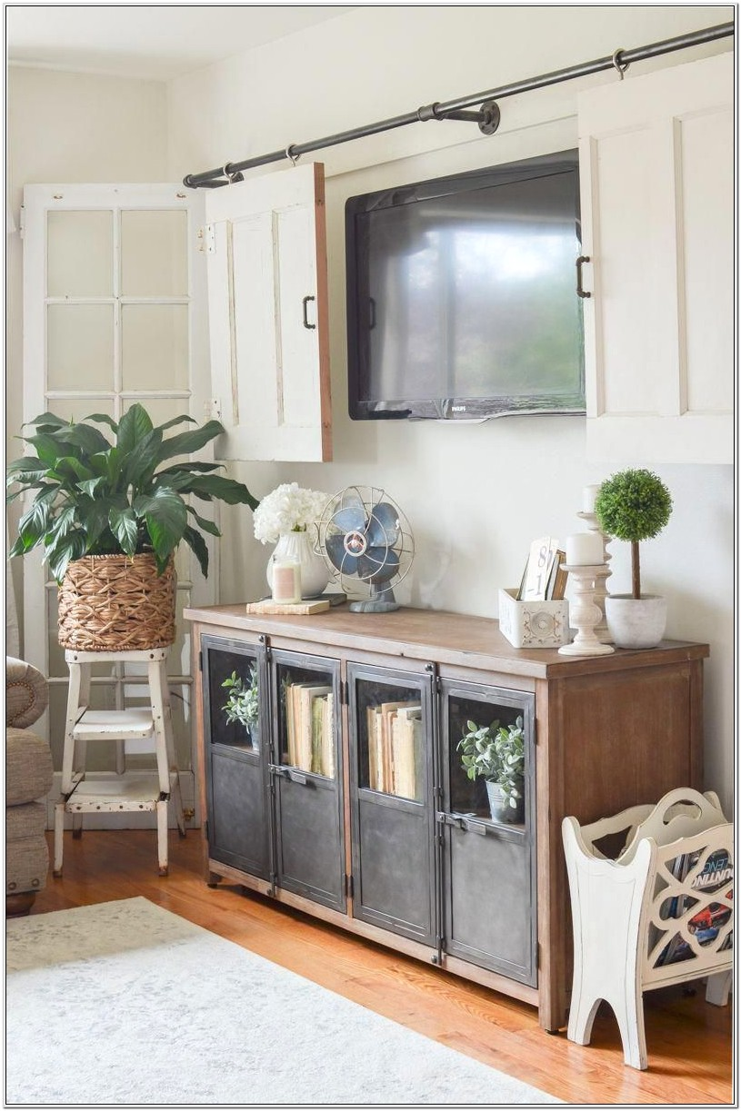 Decorate Farmhouse Style Living Room