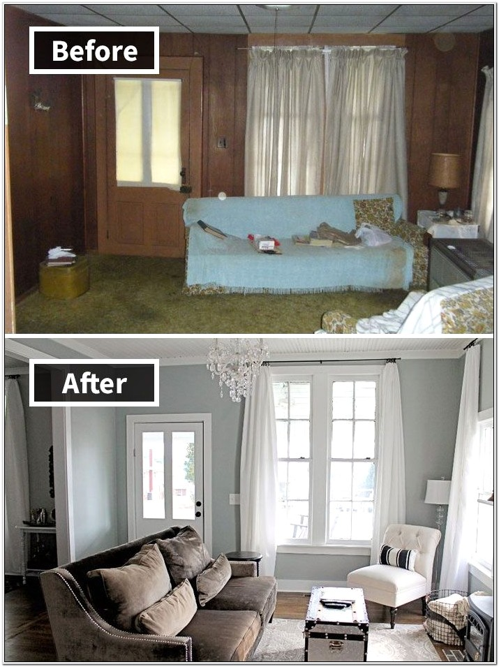 Decorate Living Room In An Old House