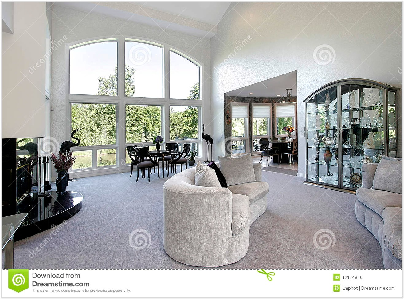 Decorate Living Room With Picture Window