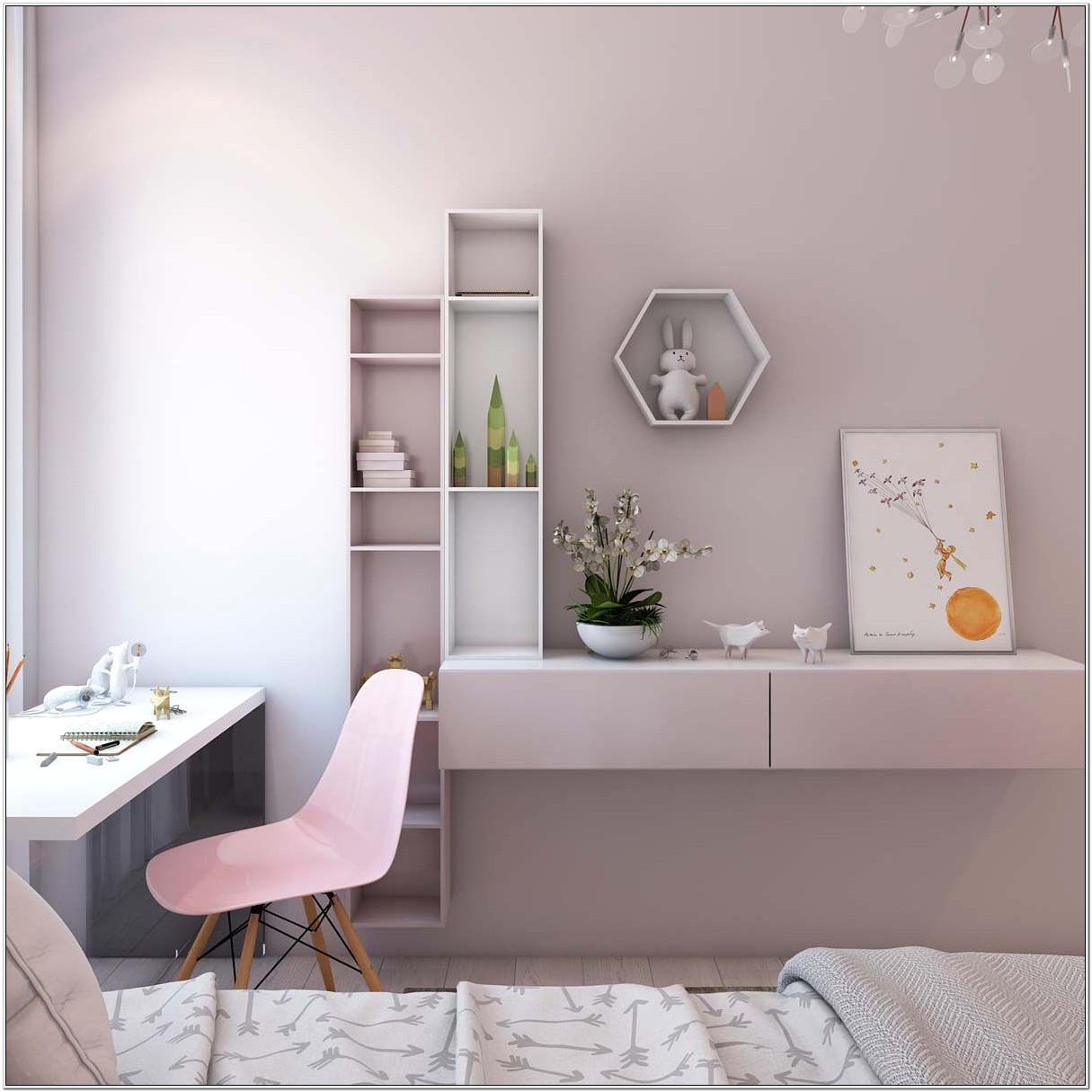 Decorate Small Bedroom For Two People