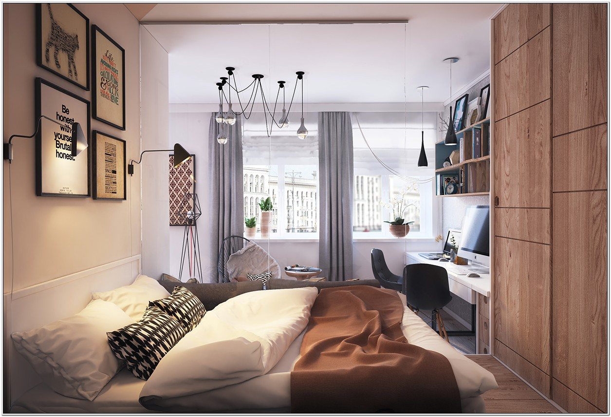 Decorate Small Square Bedroom