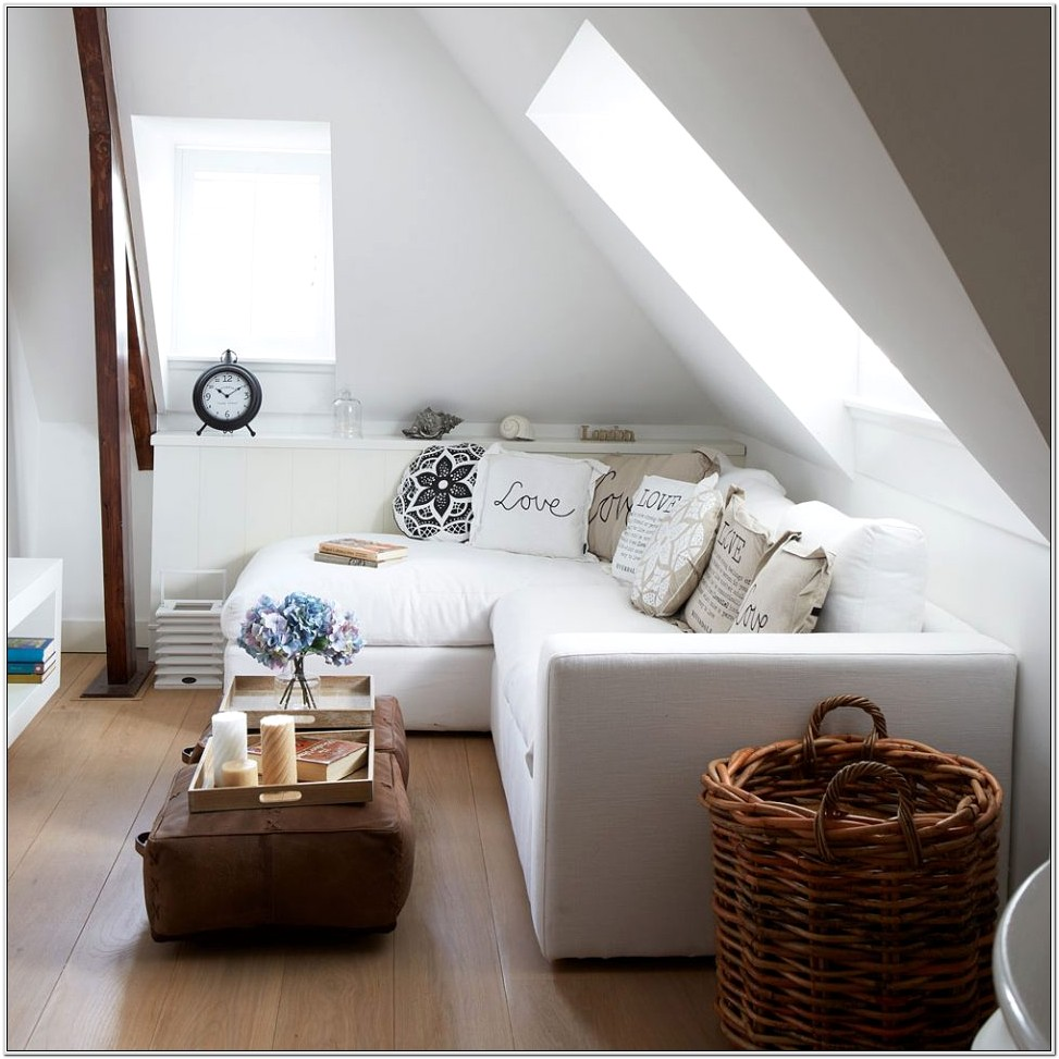 Decorate Small White Living Room