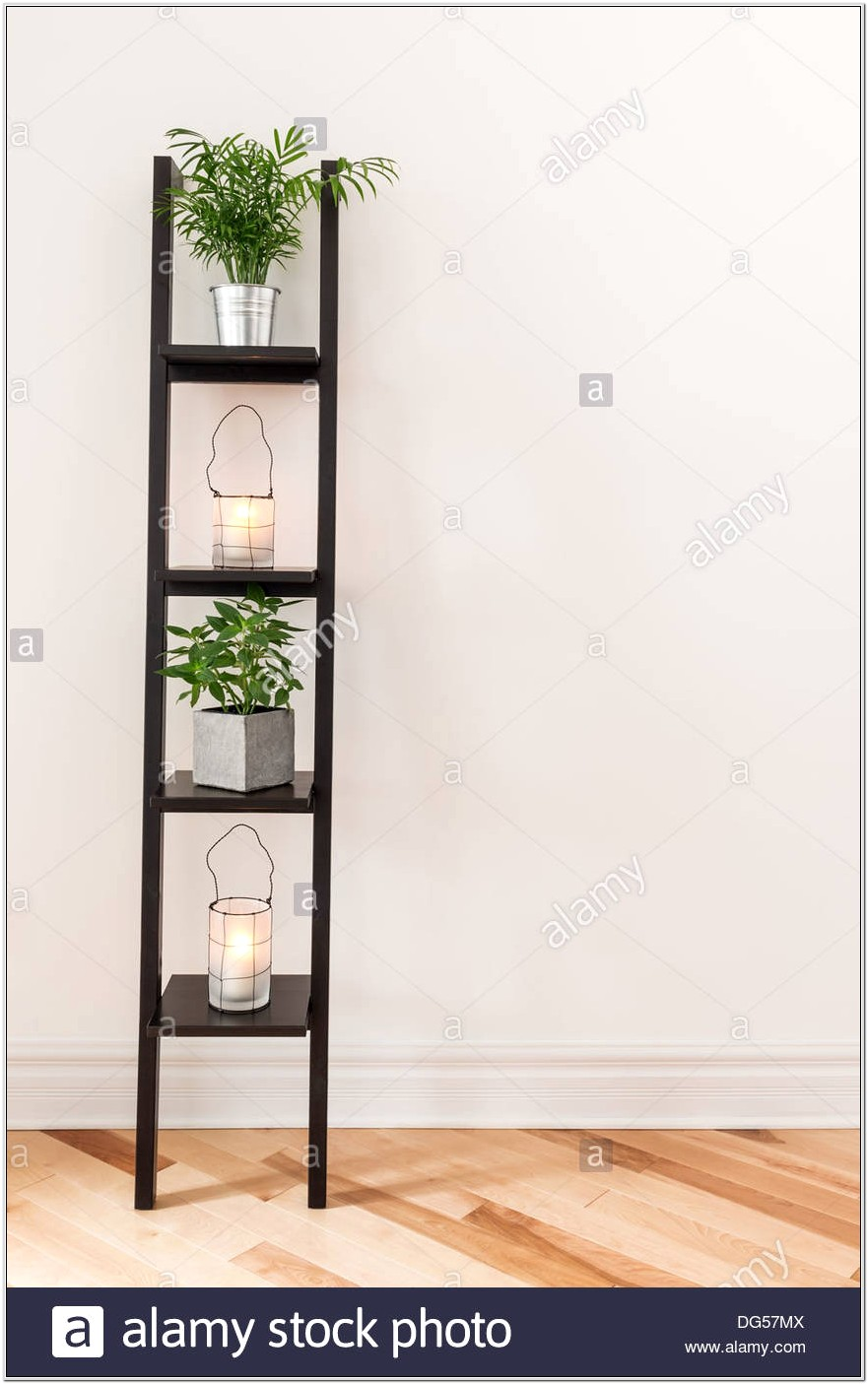 Decorating A Living Room Shelf
