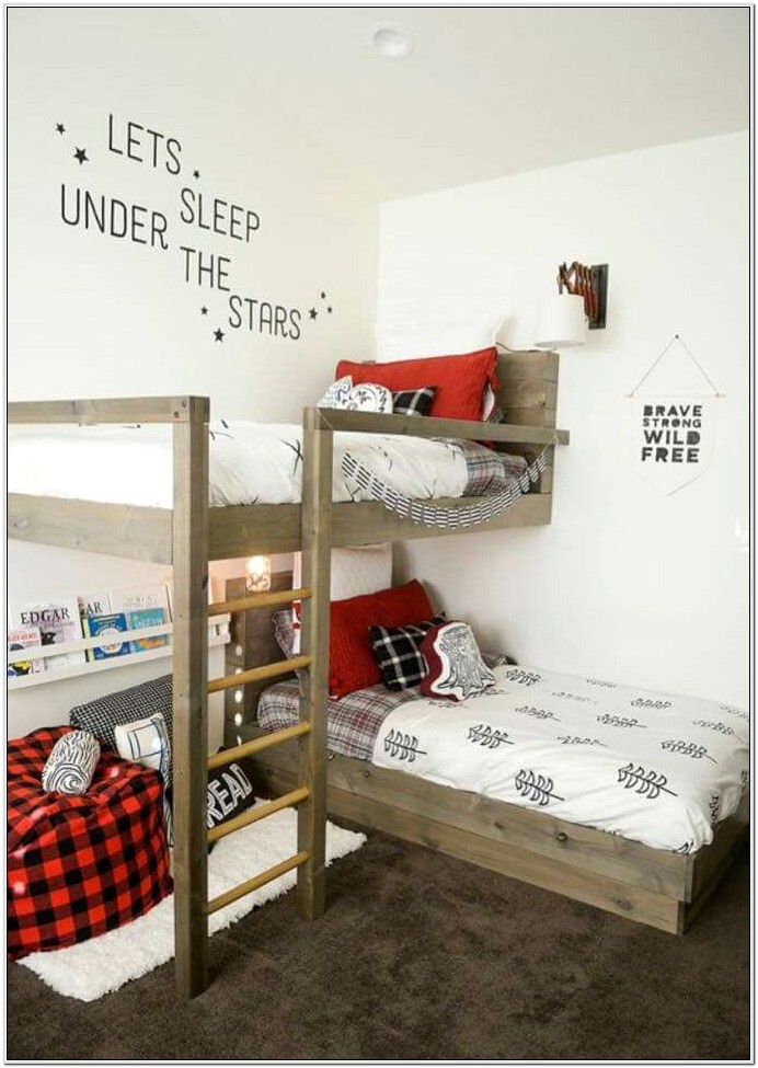 Decorating A Small Bedroom With Bunk Beds
