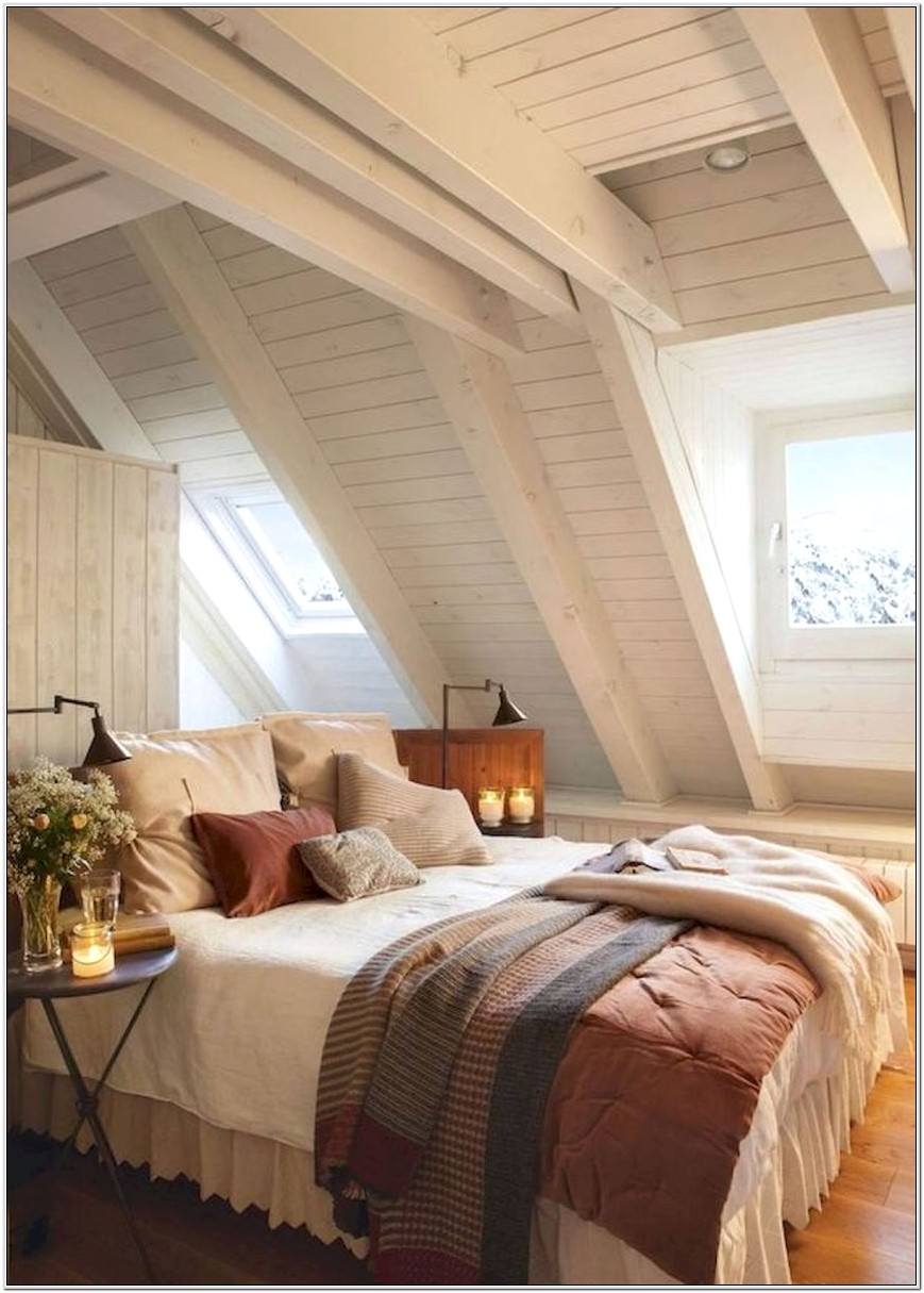 Decorating And Attic Bedroom