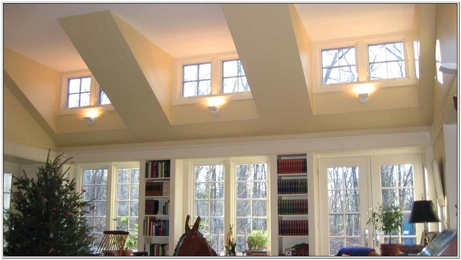 Decorating Bedroom With Dormer And Vaulted Veiling