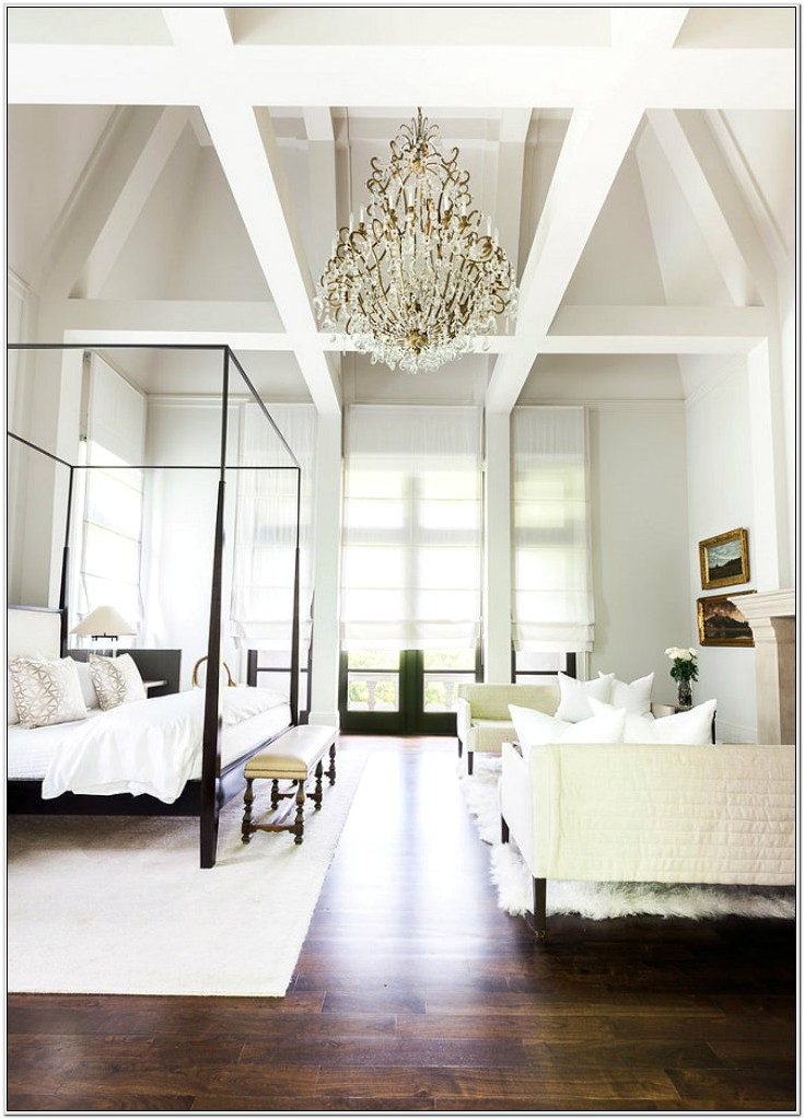 Decorating Bedroom With High Ceilings