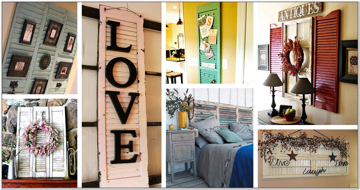 Decorating Bedrooms With Shutters