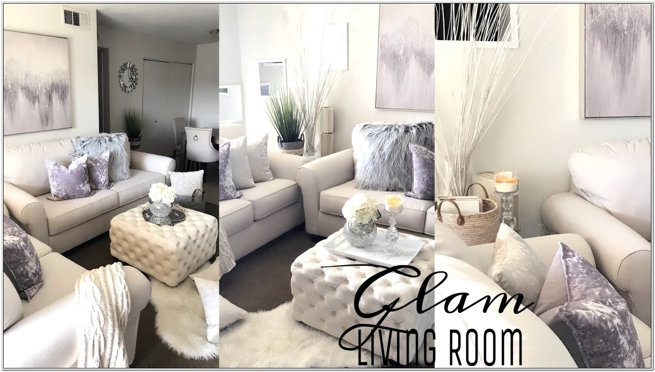 Decorating Glam Small Space Living Room
