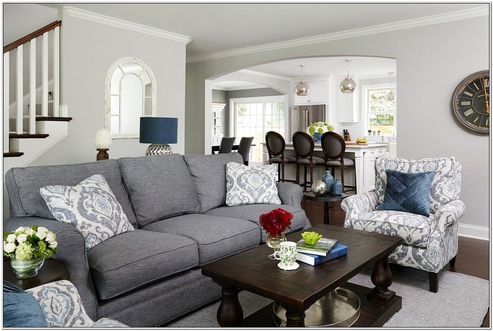Decorating Living Room With Gray Couch