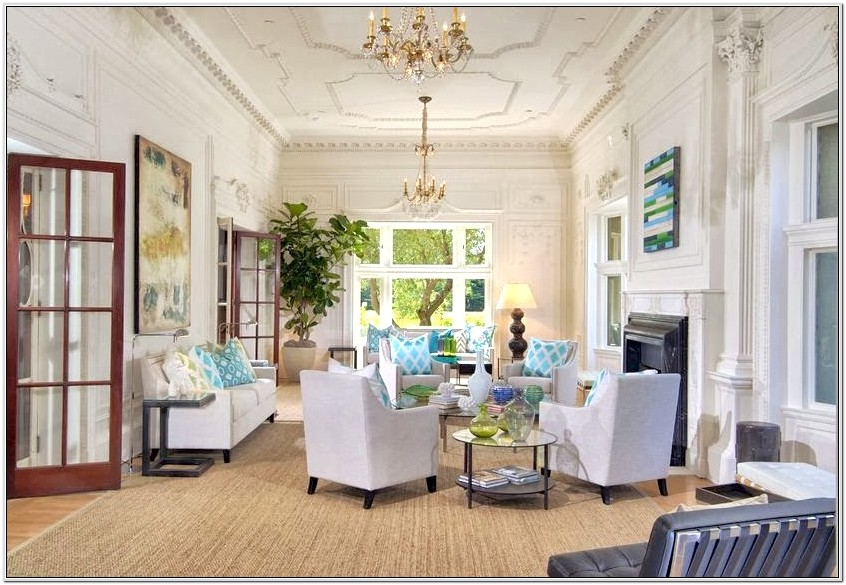 Decorating Living Room With Tall Ceilings