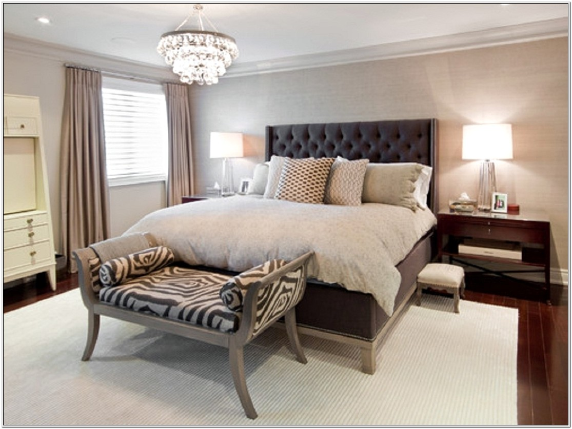 Decorating Master Bedroom With White Furniture