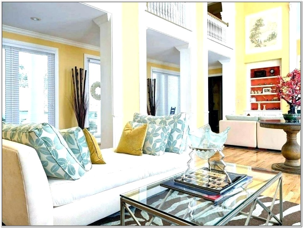 Decorating Pale Yellow Living Room