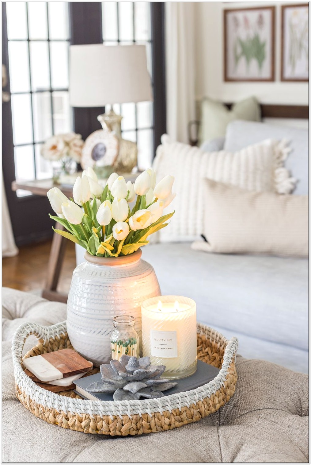 Decorating Sideboard In Living Room