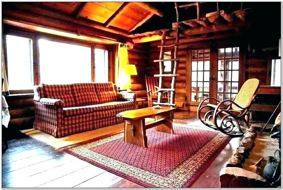 Decorating Small Cabin Living Room