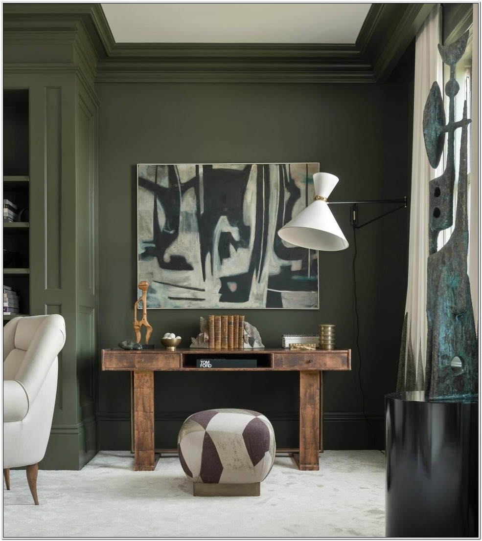 Decorating With Green Living Room Walls