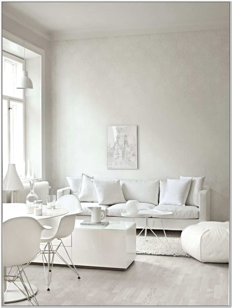Decorating With White Living Room Furniture