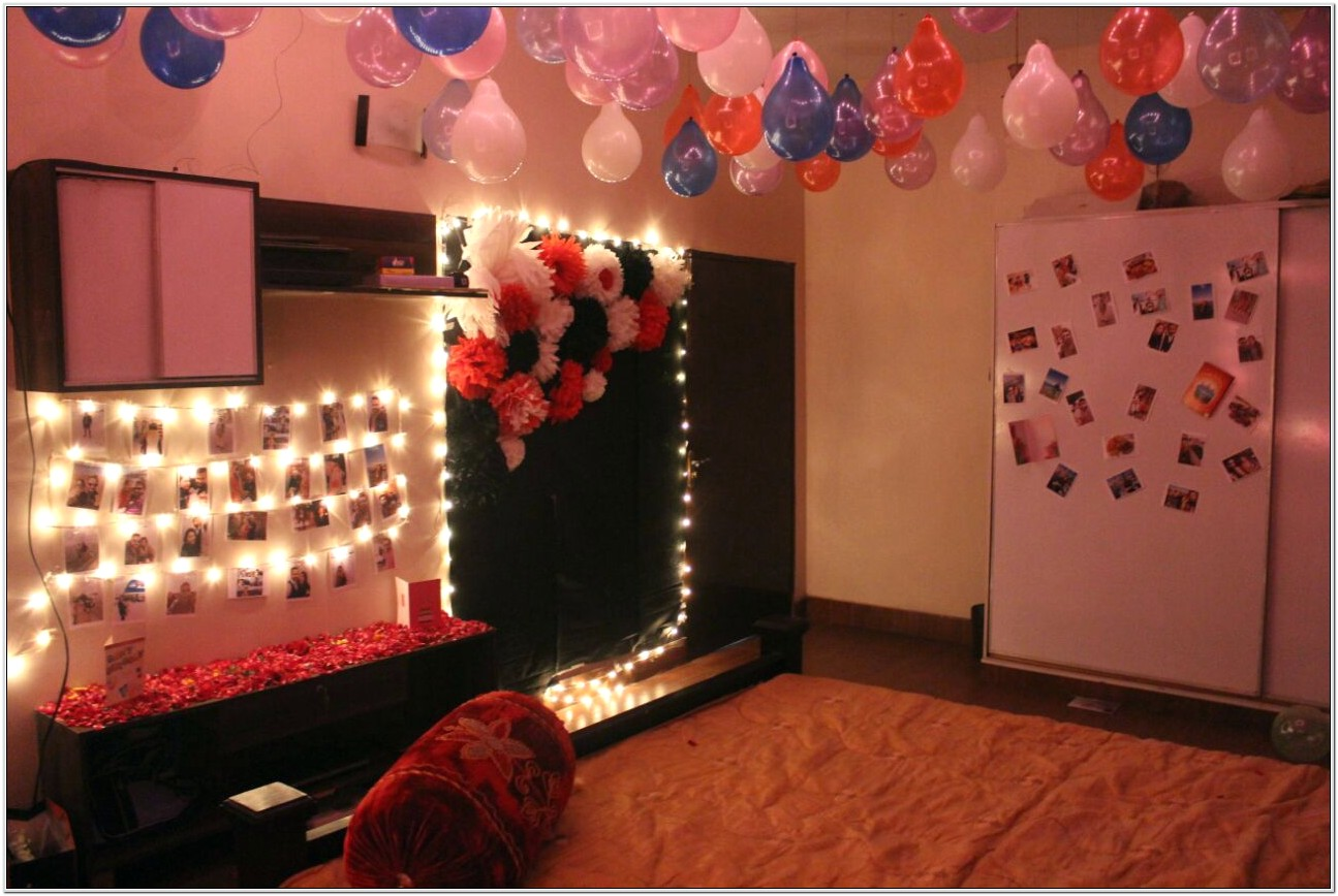 Decoration Of Bedroom For Anniversary