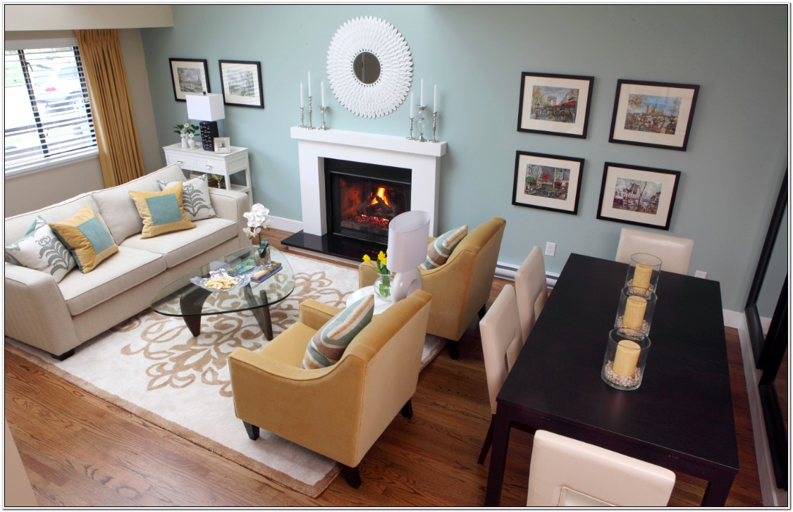 Dining Table In Small Living Room Pictures