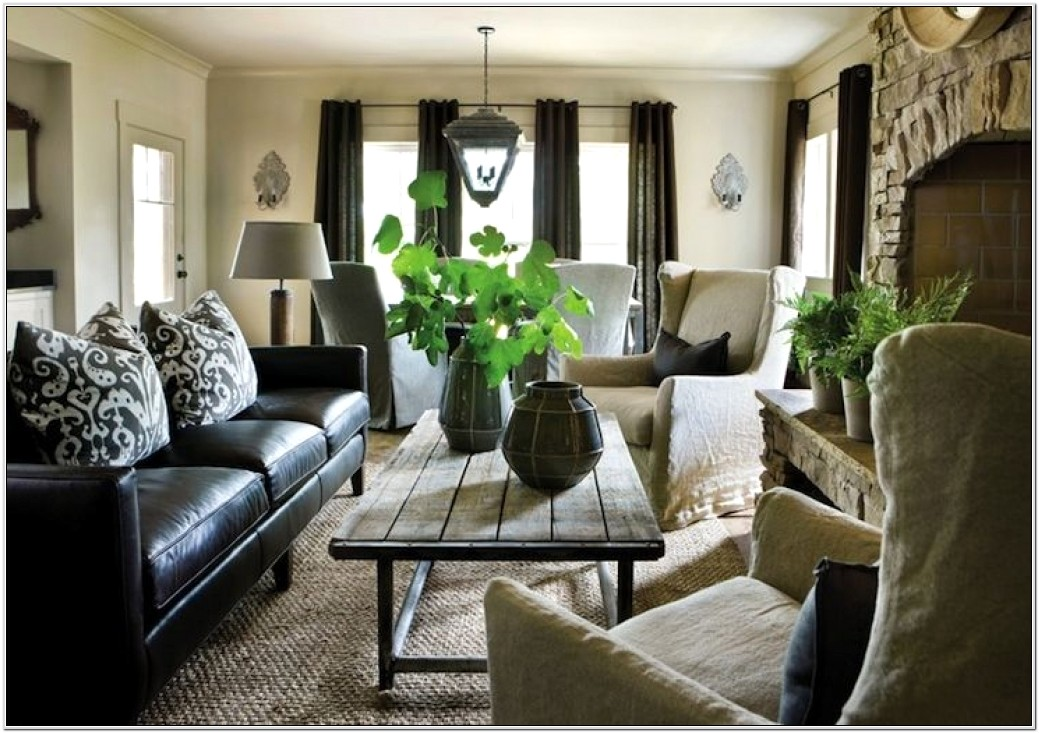 Living Room Design With Black Leather Sofa How To Decorate A Living Room With A Black Leather Sofa Decoholic Best Decor