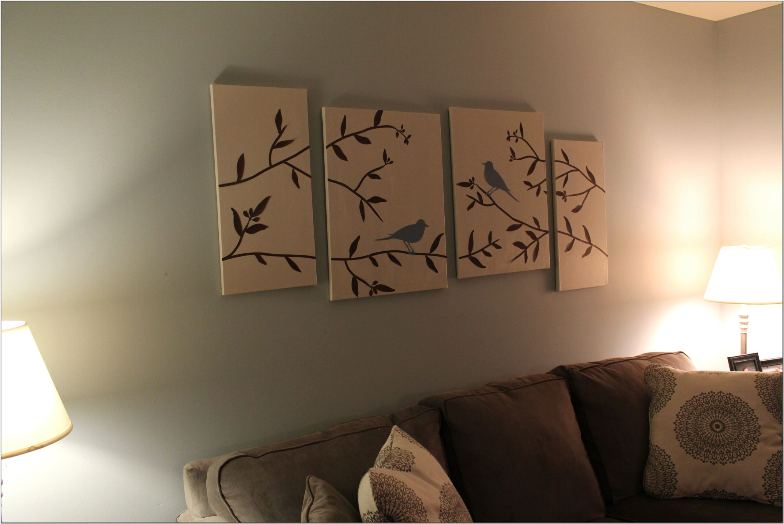 Diy Canvas Ideas For Living Room