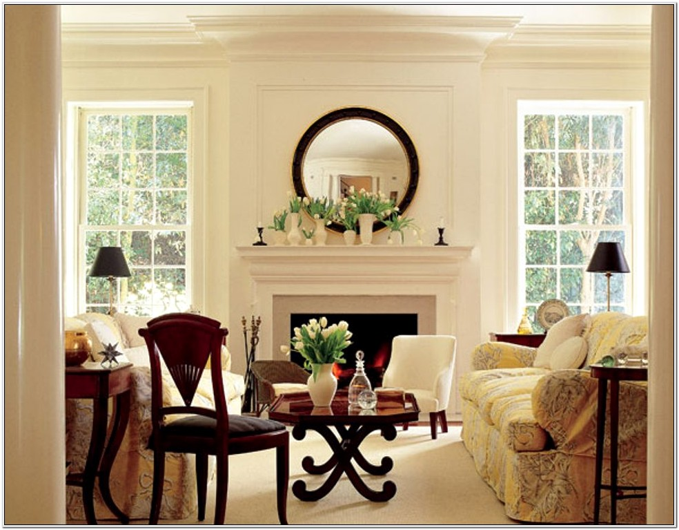 Early American Living Room Ideas