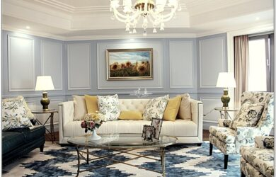 Elegant Formal Living Room Set