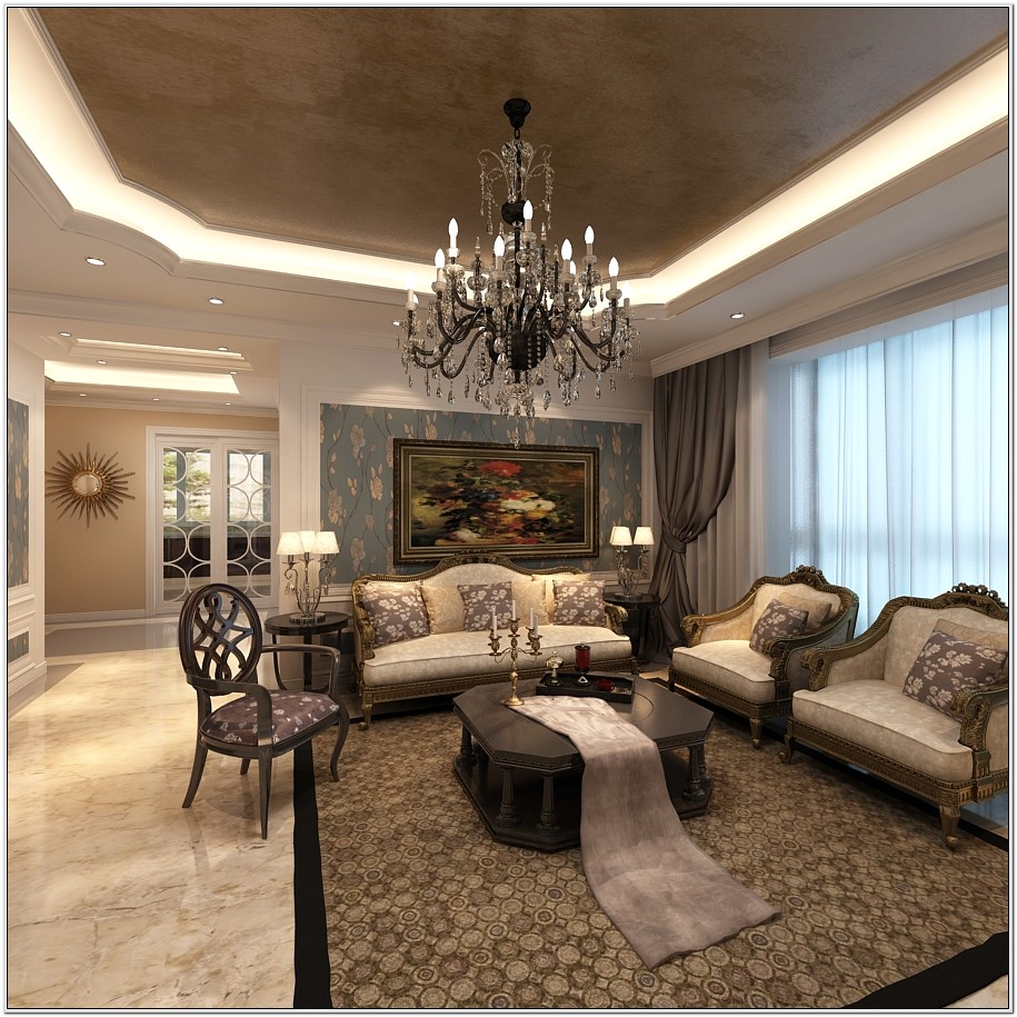 Elegant Home Design Living Room